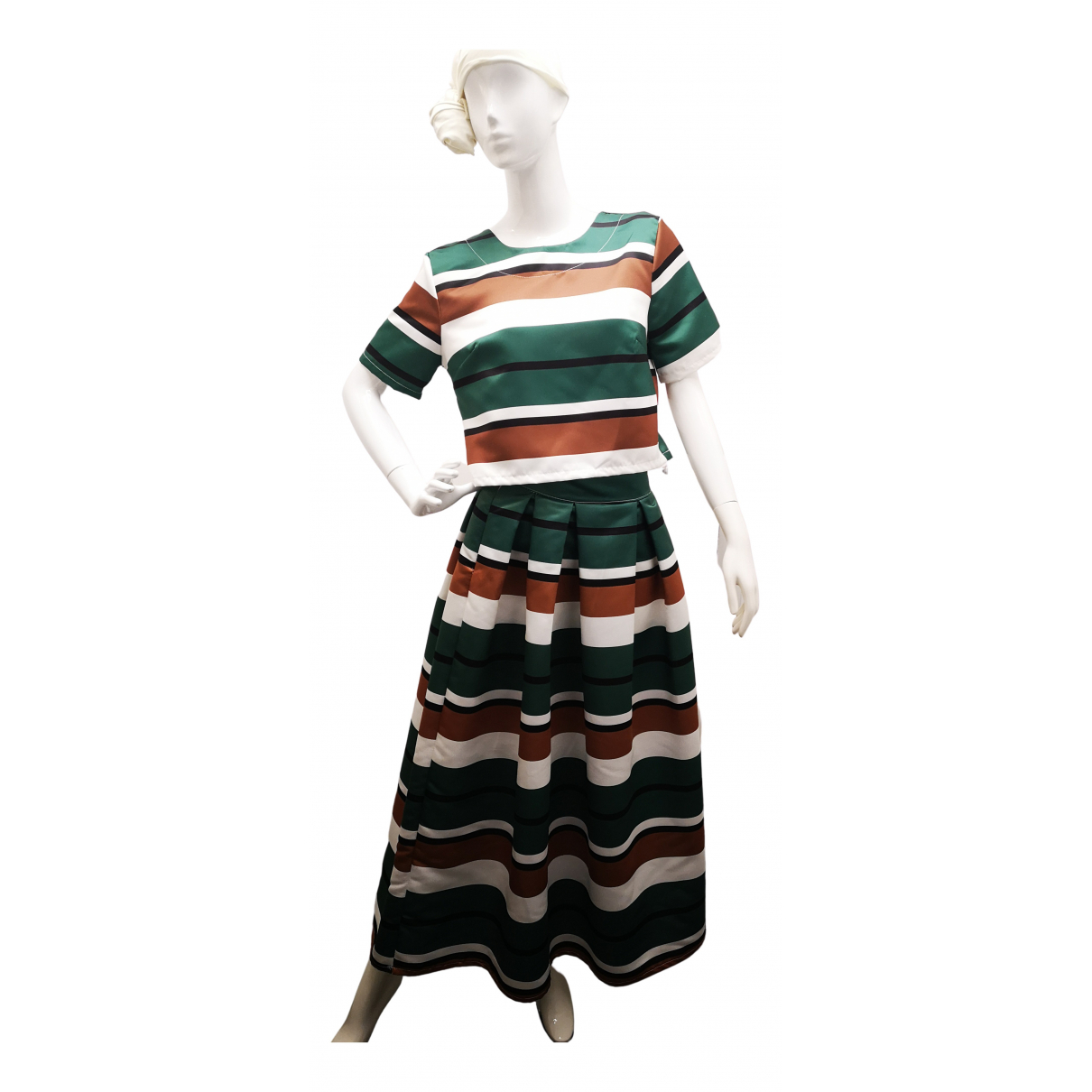 Non Signé / Unsigned N Green dress for Women 42 IT