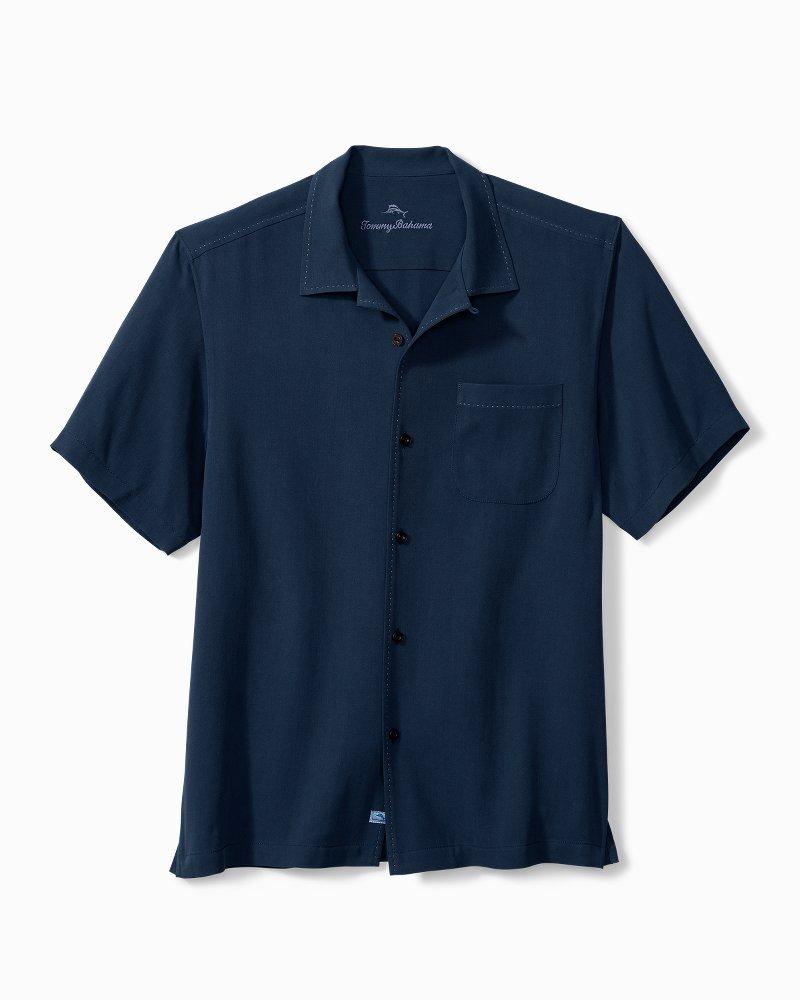 Hawaiian Herringbone Camp Shirt