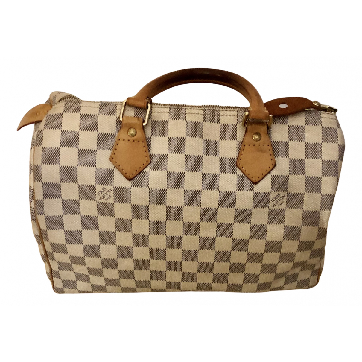 Louis Vuitton Speedy Ecru Cloth handbag for Women \N