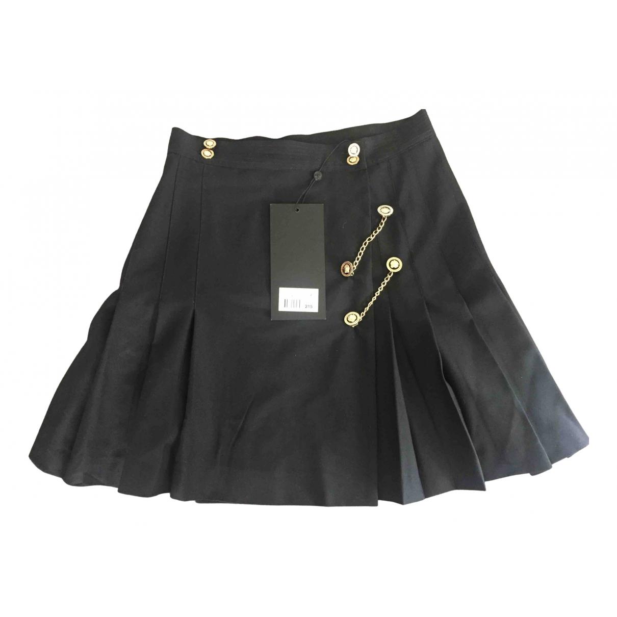 The Kooples N Black Cotton skirt for Women 2 0-5