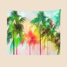 Coconut Tree Print Tapestry