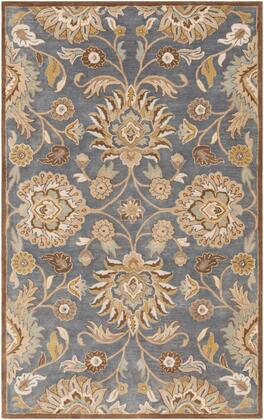 Caesar CAE-1202 8' x 11' Rectangle Traditional Rug in