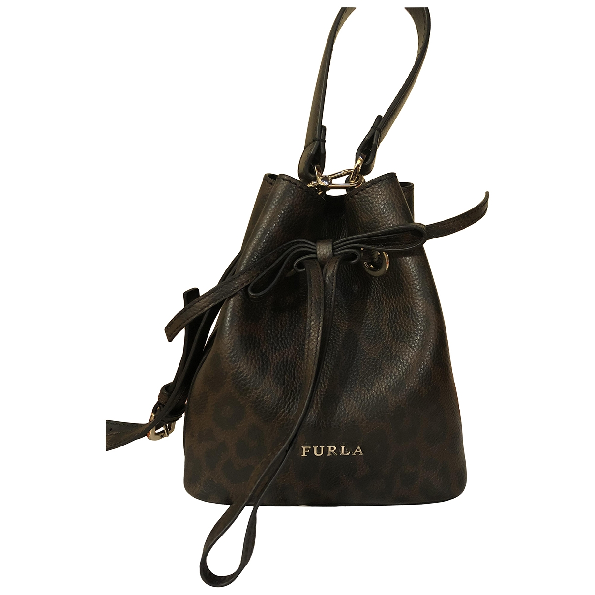 Furla \N Clutch in Leder