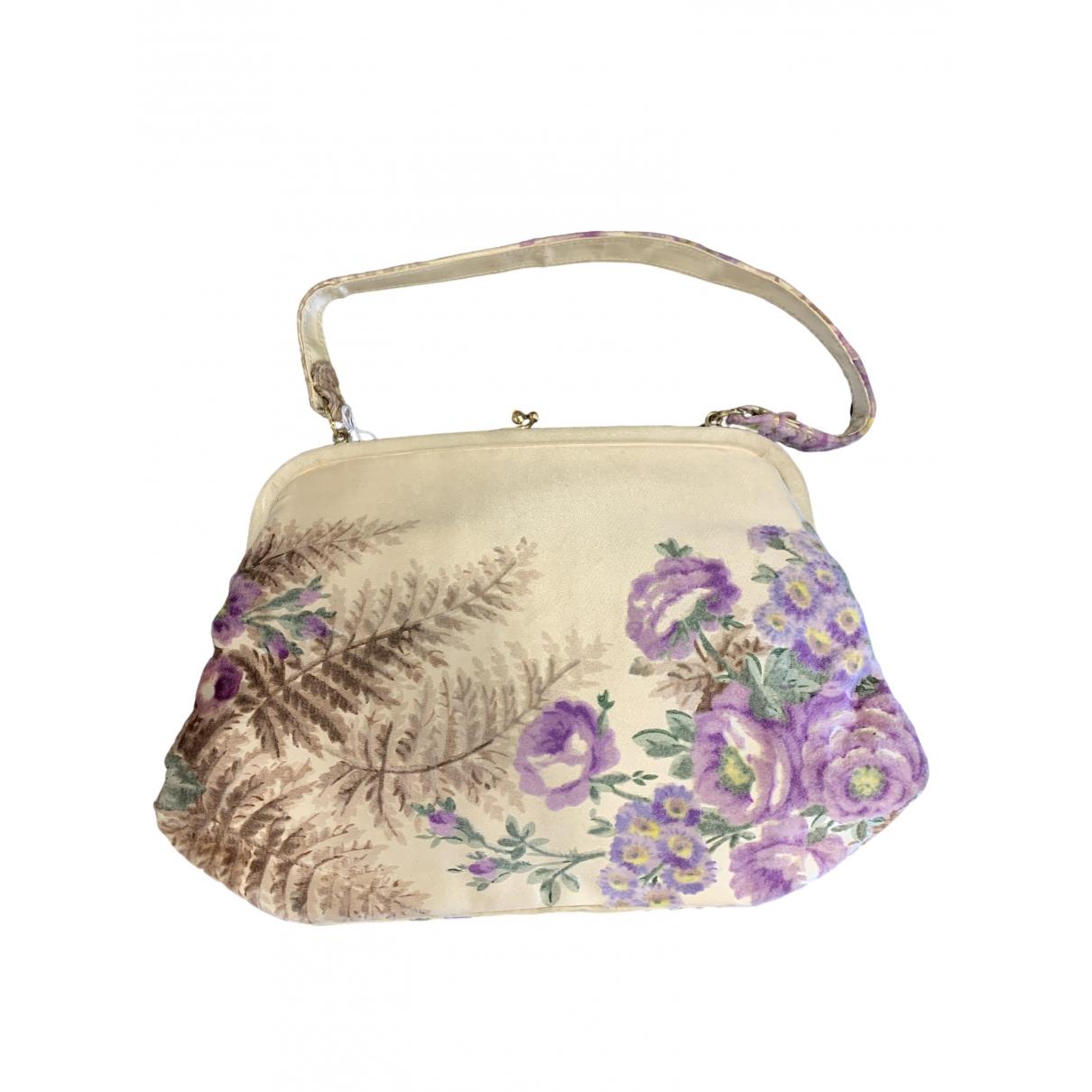 Gucci \N Ecru Silk handbag for Women \N