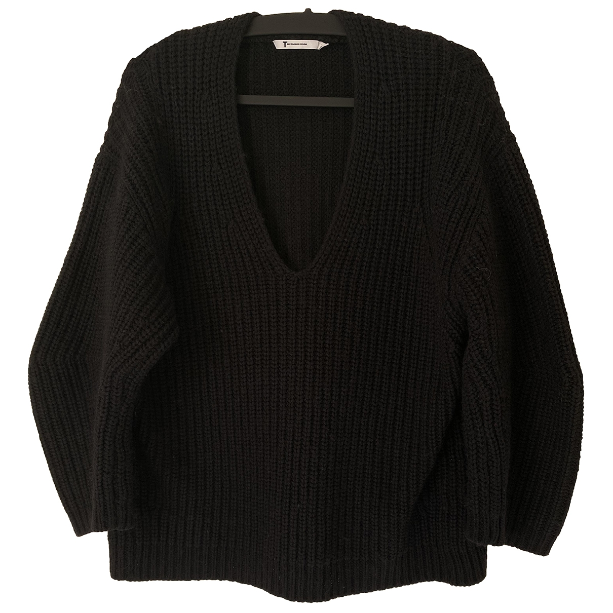 T By Alexander Wang \N Black Cotton Knitwear for Women S International