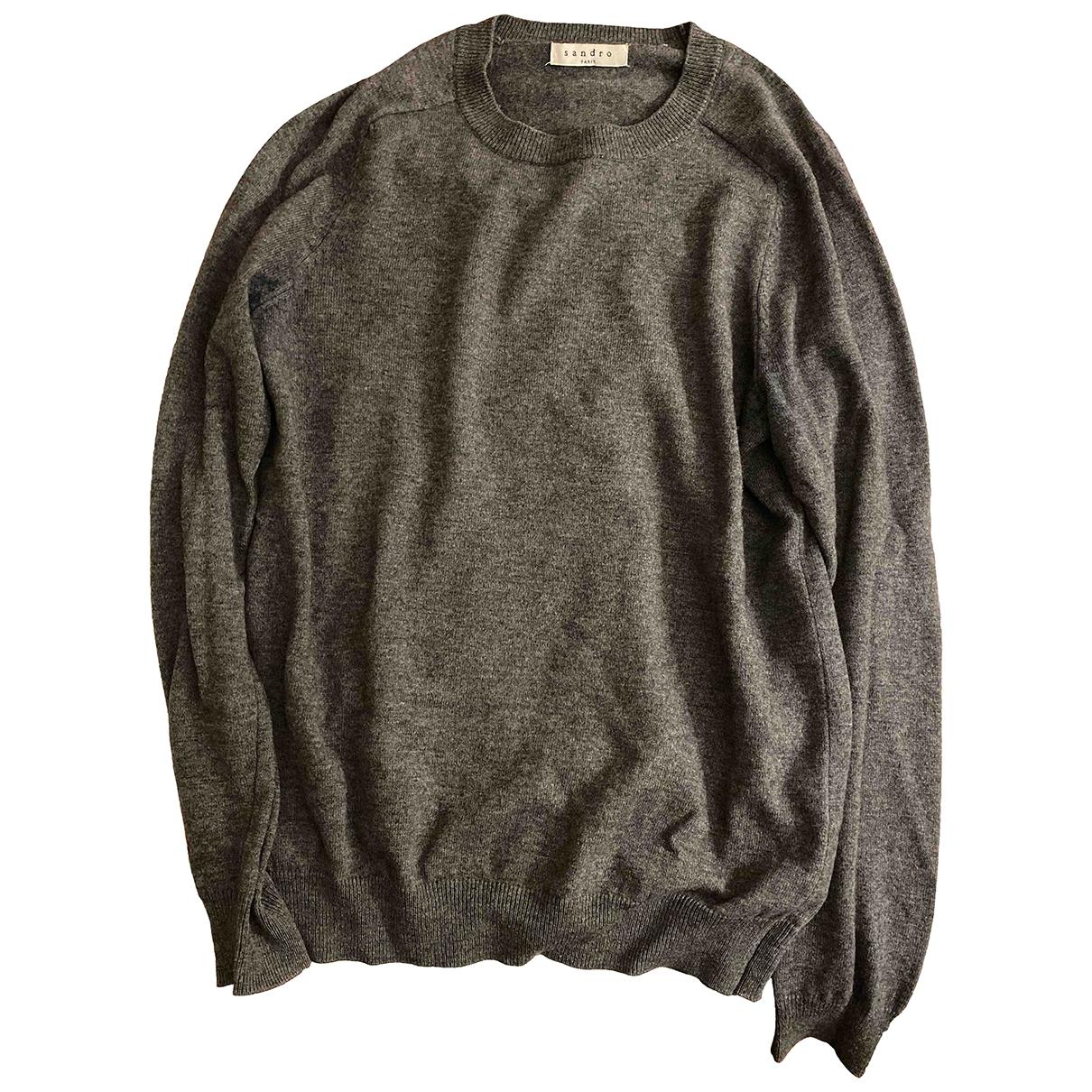 Sandro \N Grey Wool Knitwear & Sweatshirts for Men S International
