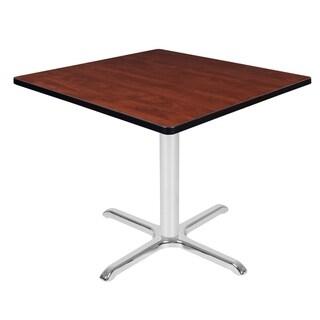 Via Square X-Base Table (36