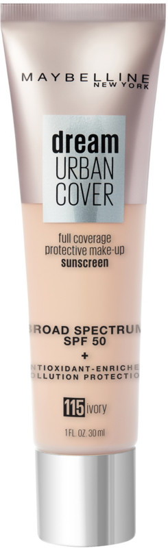 Dream Urban Cover Flawless Coverage Foundation SPF 50 - Ivory