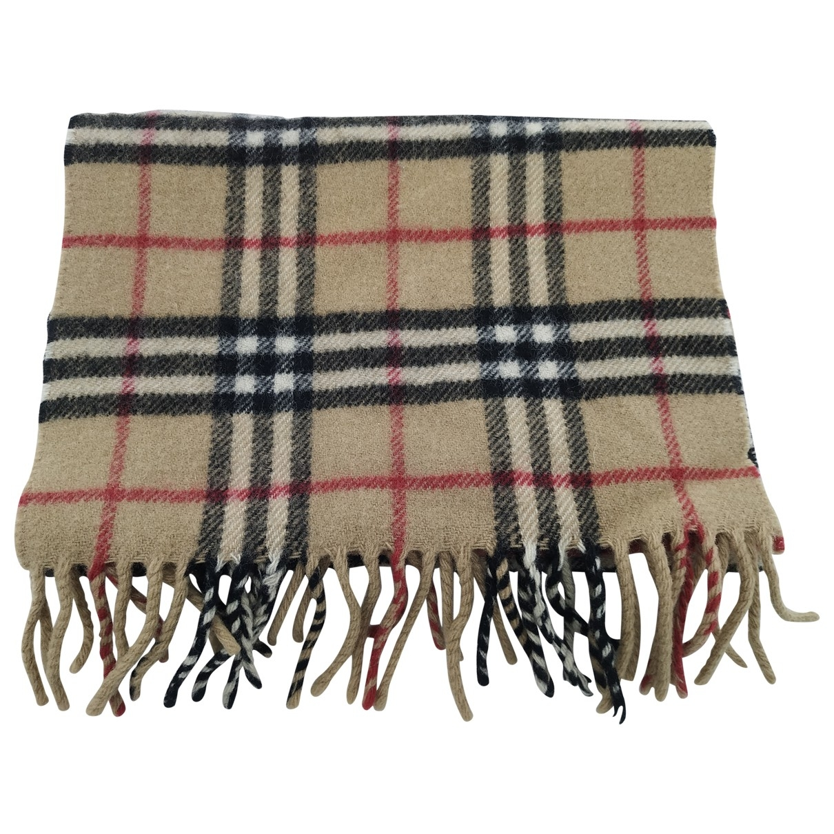 Burberry \N Brown Wool scarf for Women \N