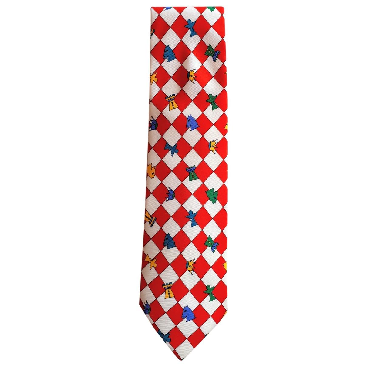 Jc De Castelbajac - Cravates   pour homme en soie - multicolore
