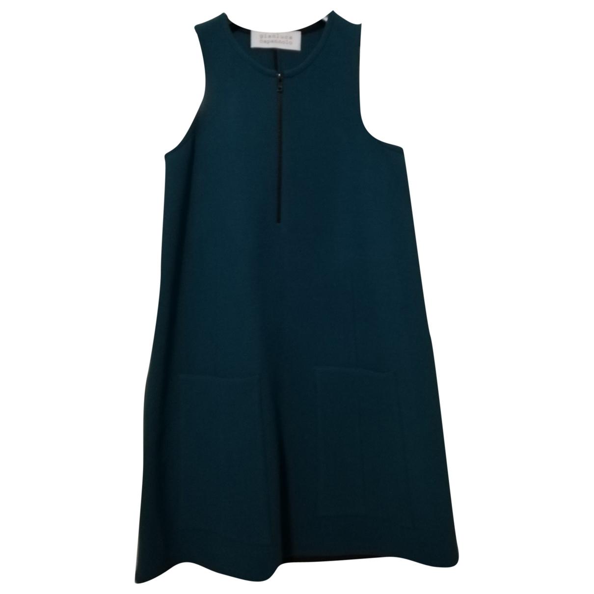 Gianluca Capannolo - Robe   pour femme en laine - vert