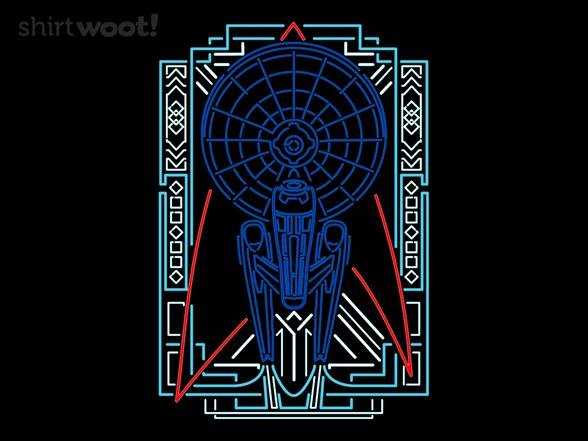 Neon Enterprise T Shirt