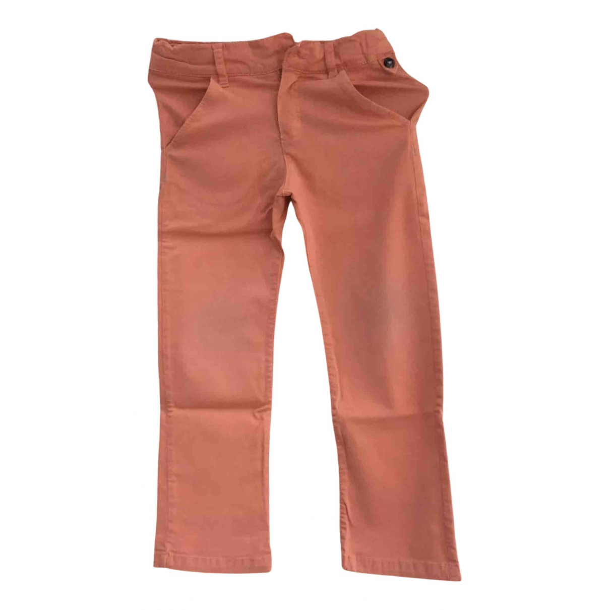 Tartine Et Chocolat \N Orange Cotton Trousers for Kids 4 years - up to 102cm FR