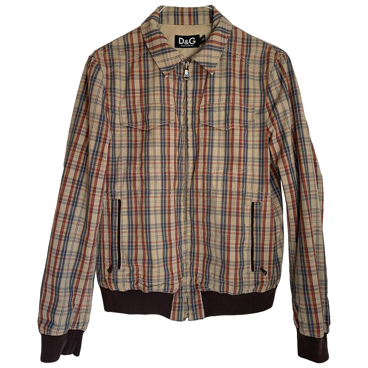 D&g - Vestes.Blousons   pour homme en coton - multicolore