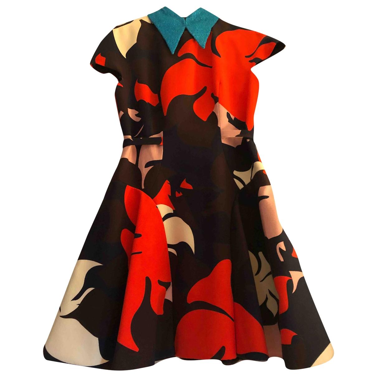 Delpozo - Robe   pour femme - multicolore