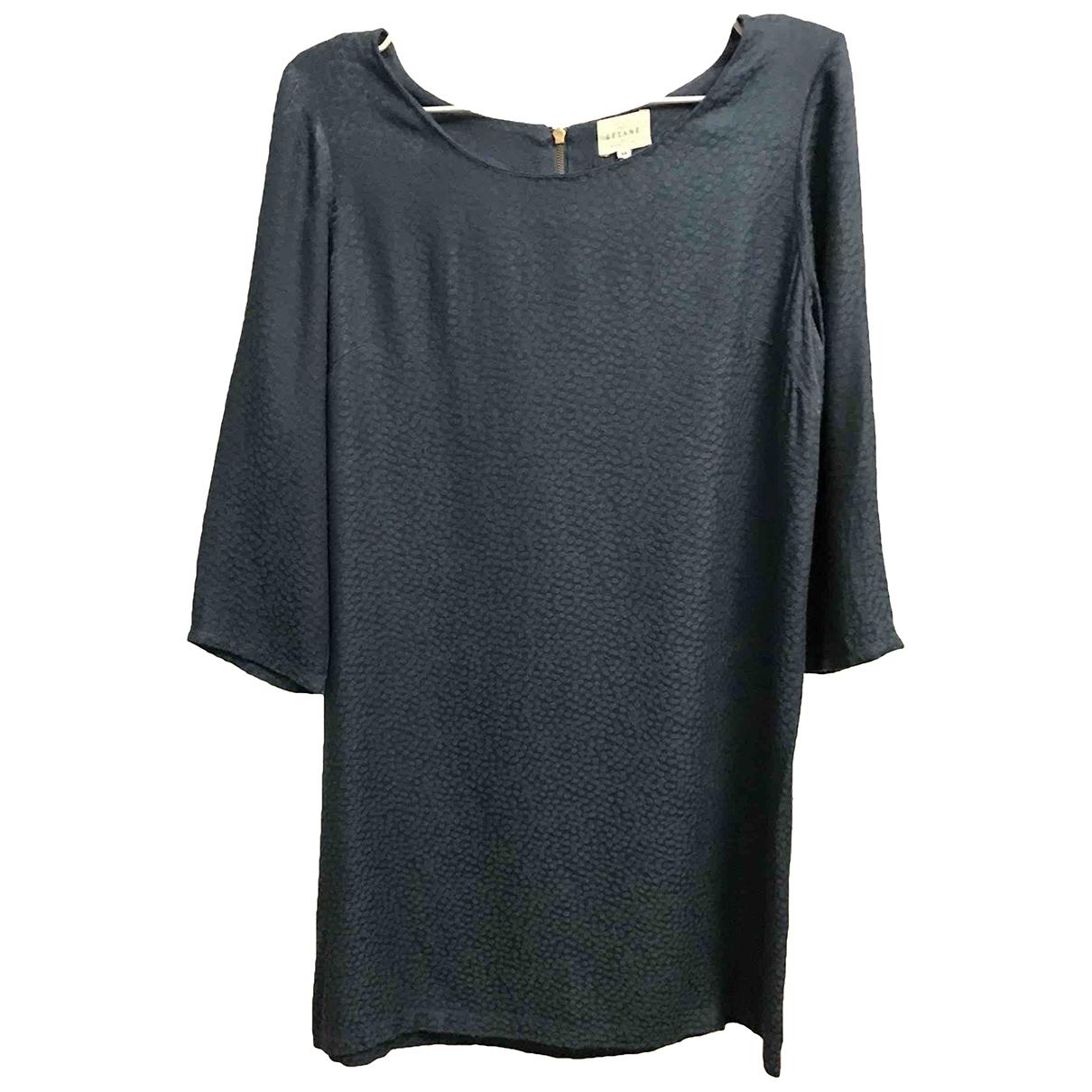 Sezane \N Kleid in  Blau Viskose
