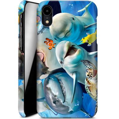 Apple iPhone XR Smartphone Huelle - Ocean Selfie von Howard Robinson