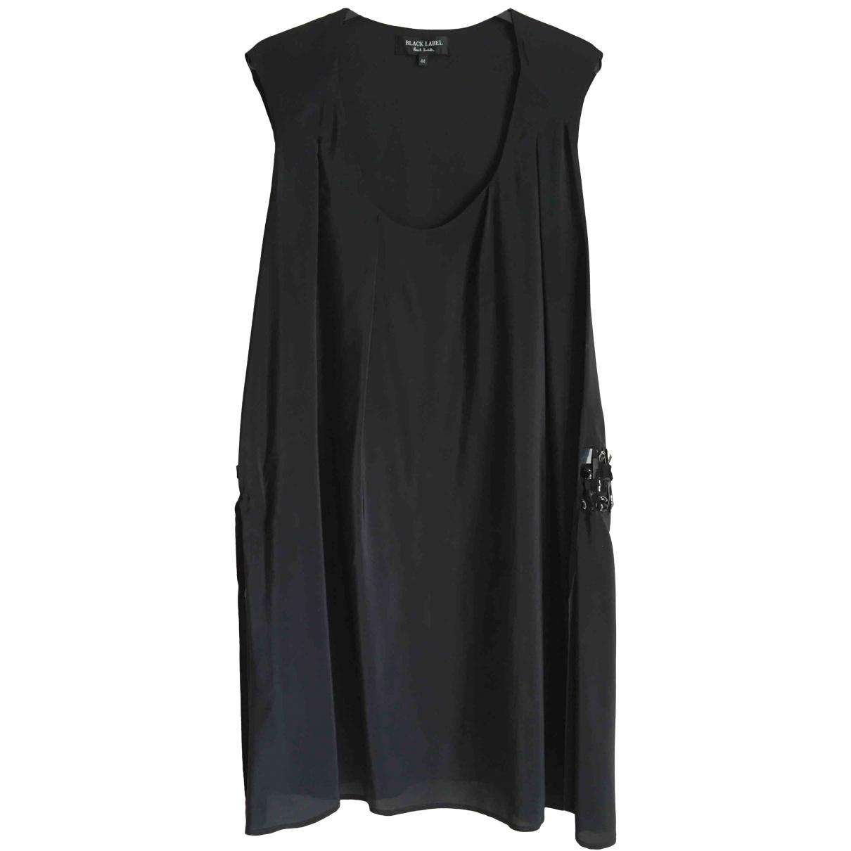Paul Smith \N Black Silk dress for Women 44 IT