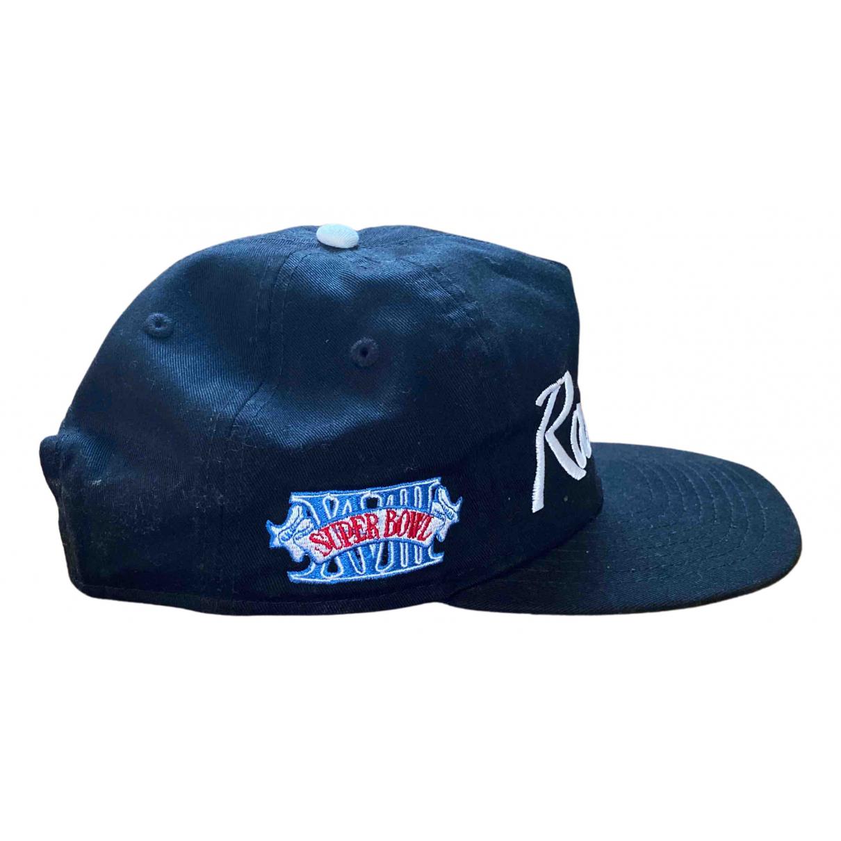 Nfl Team Apparel N Black Cotton hat & pull on hat for Men M International