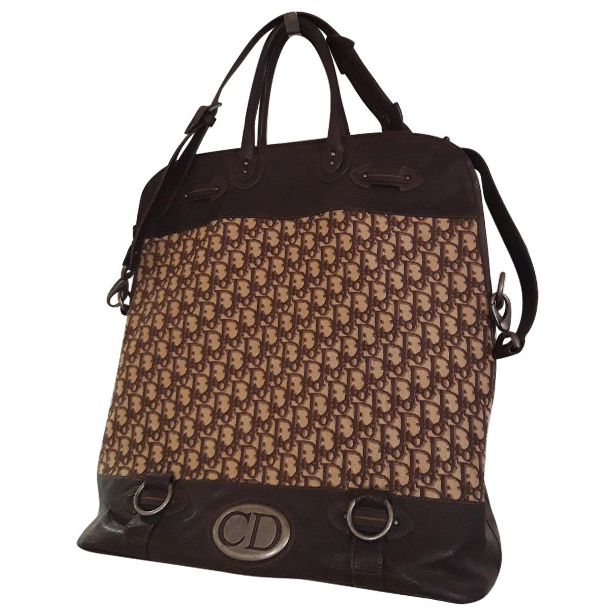 Dior \N Reisetasche in  Braun Baumwolle