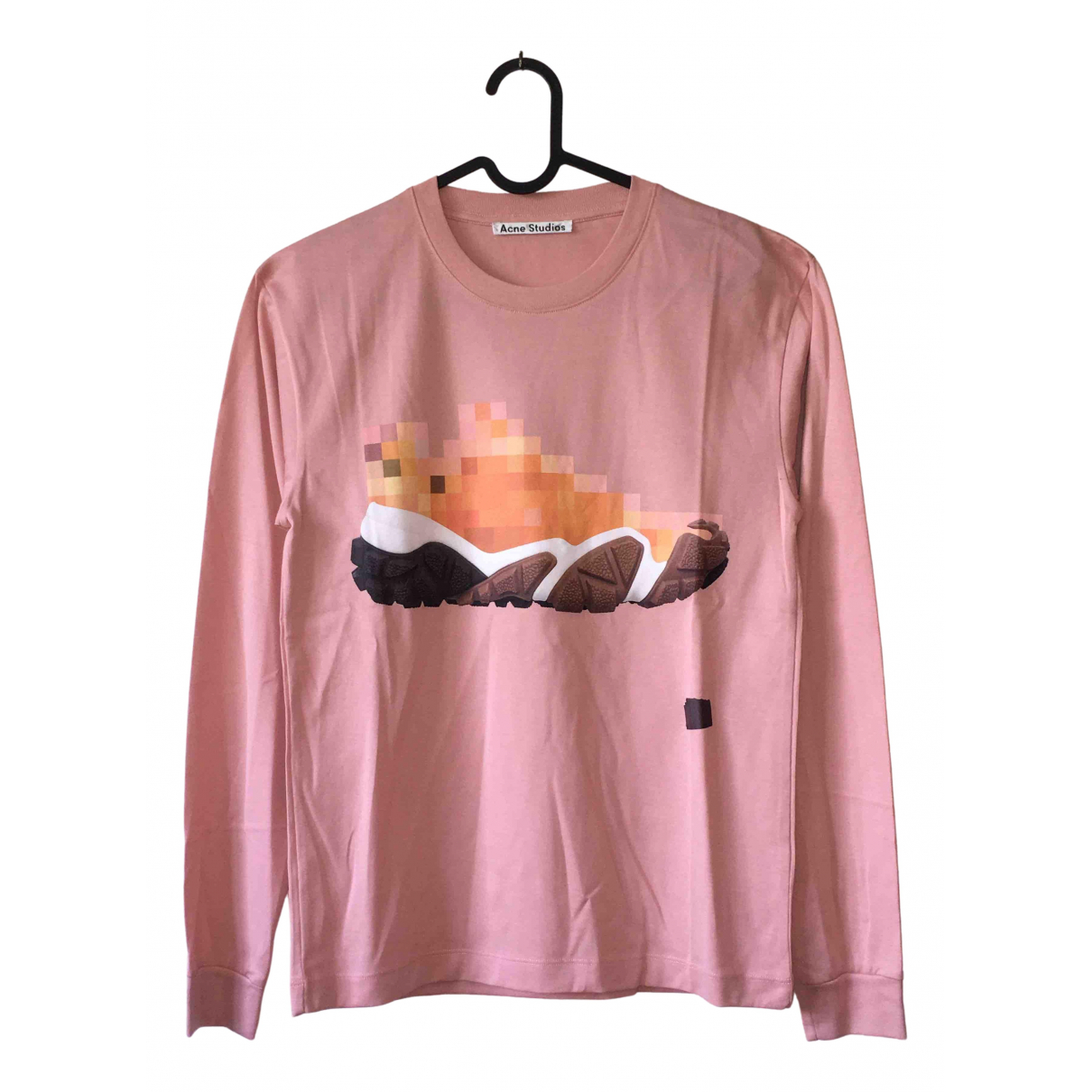 Acne Studios \N Pink Cotton  top for Women XS International