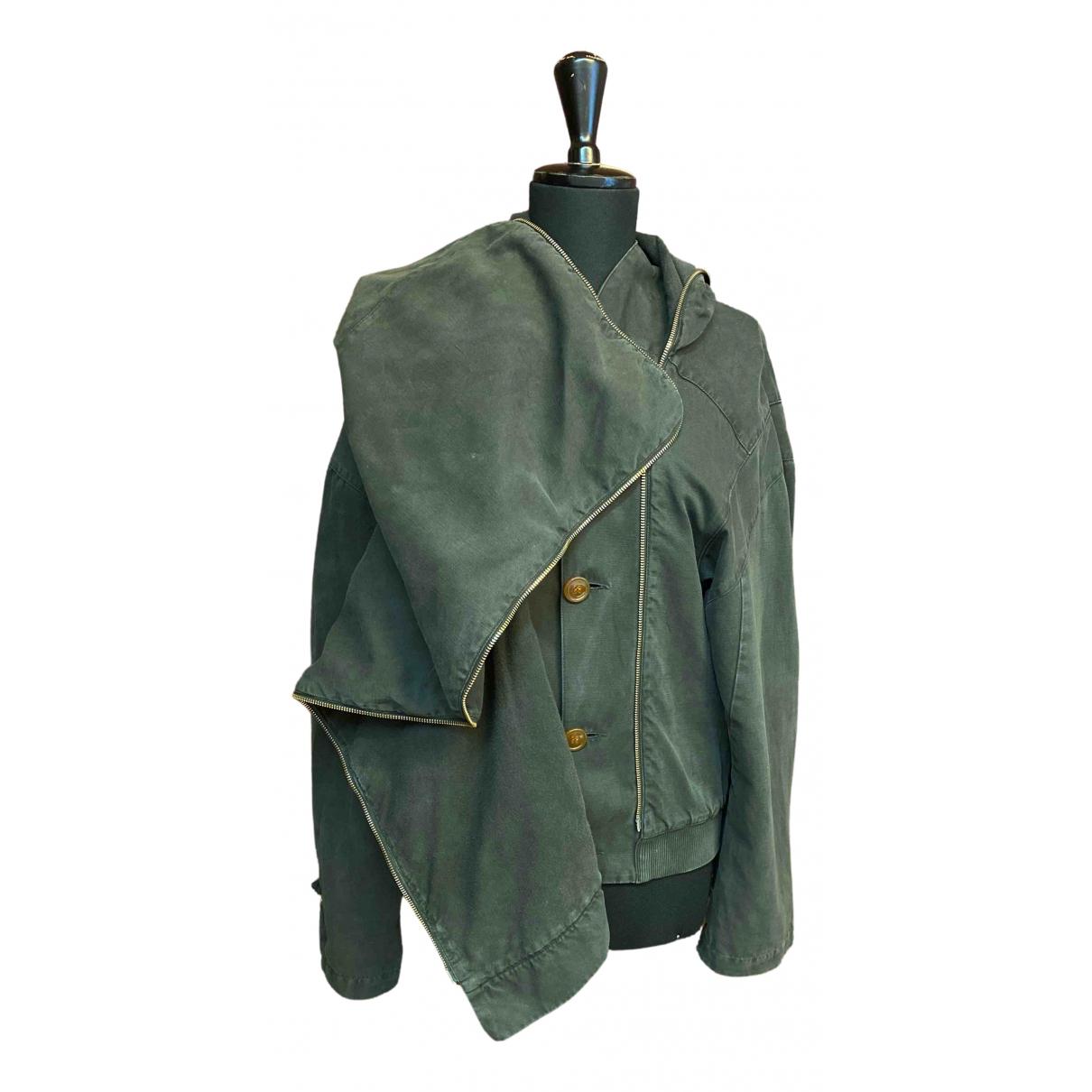 Vivienne Westwood \N Green Cotton jacket  for Men 52 IT