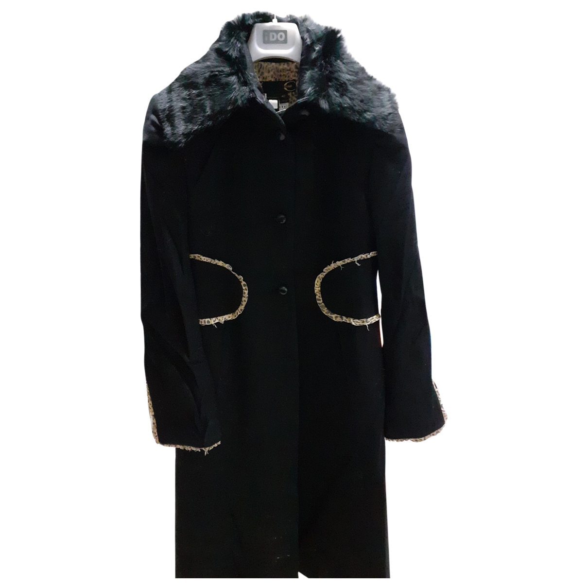 Just Cavalli - Manteau   pour femme en laine - noir