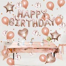 40 Stuecke Geburtstag Party Ballon Set