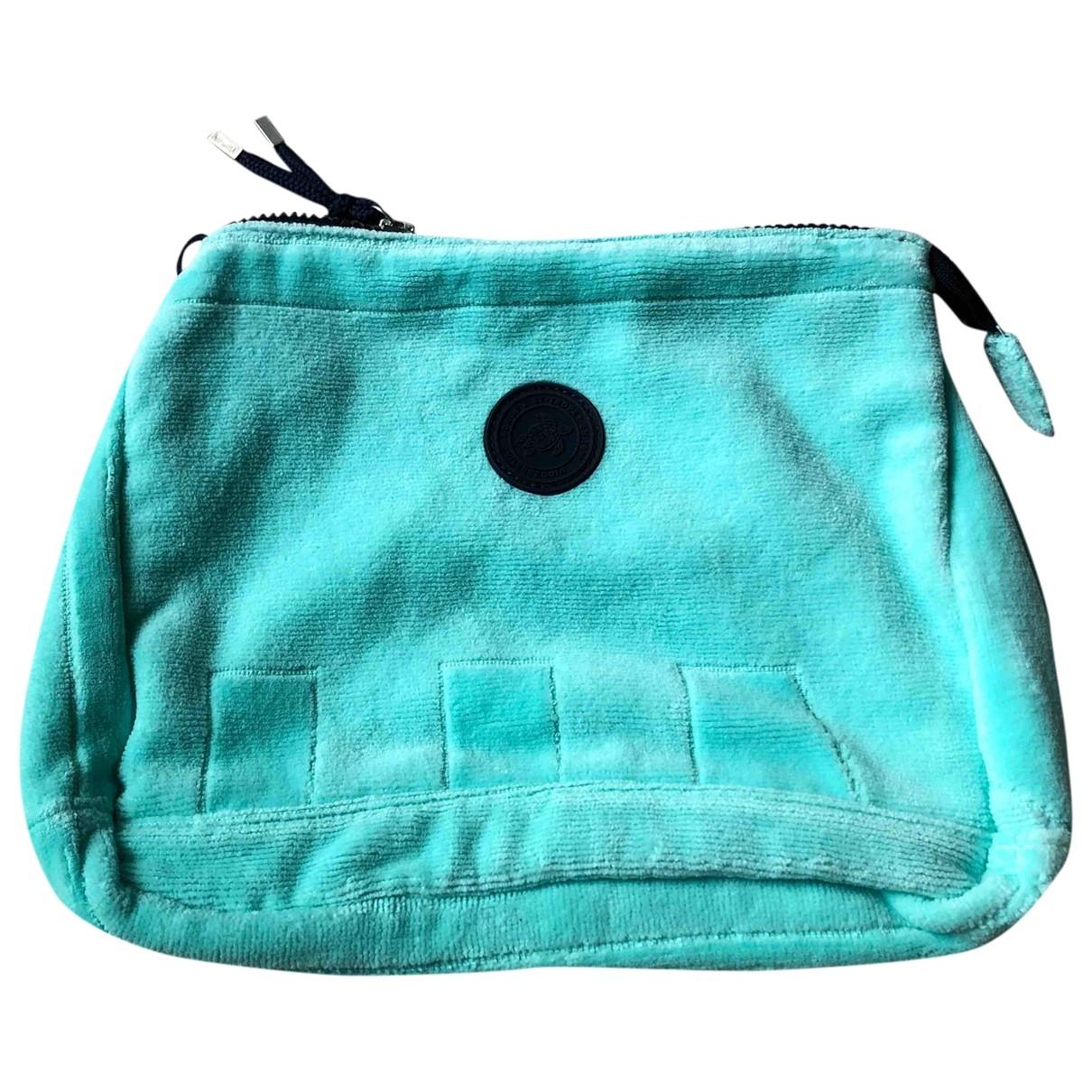 Vilebrequin - Pochette   pour femme en coton - turquoise