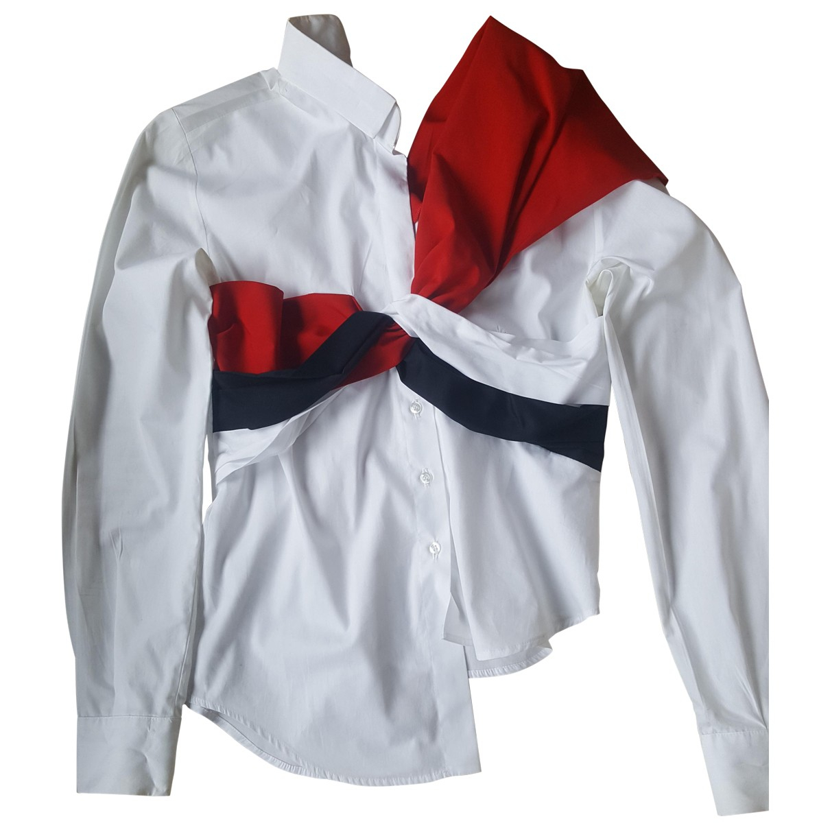 Jacquemus - Top Le Nez Rouge pour femme en coton - multicolore