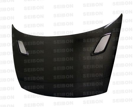 Seibon HD0607HDCV2D-MG Carbon Fiber MG-Style Hood Honda Civic 2dr 06-07