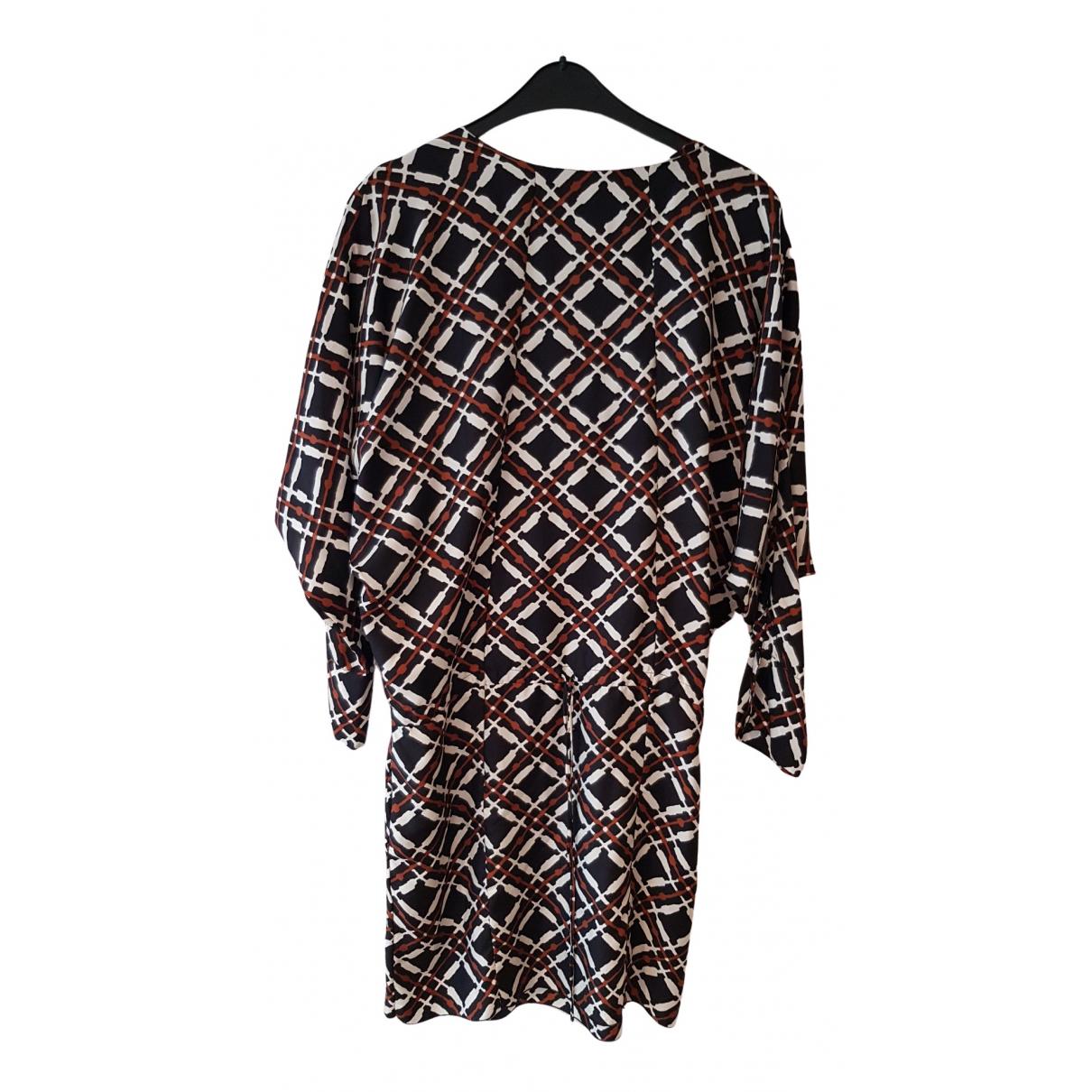 Marni - Robe   pour femme en soie - multicolore