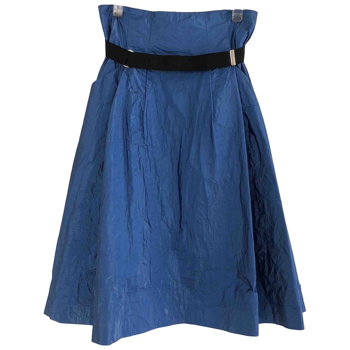 Toga Pulla \N Rocke in  Blau Polyester
