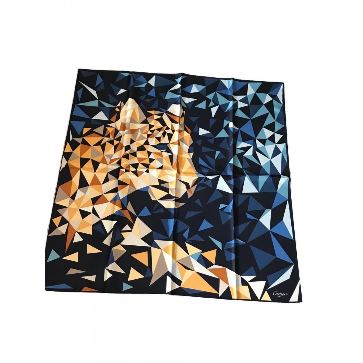 Cartier \N Schal in  Bunt Seide