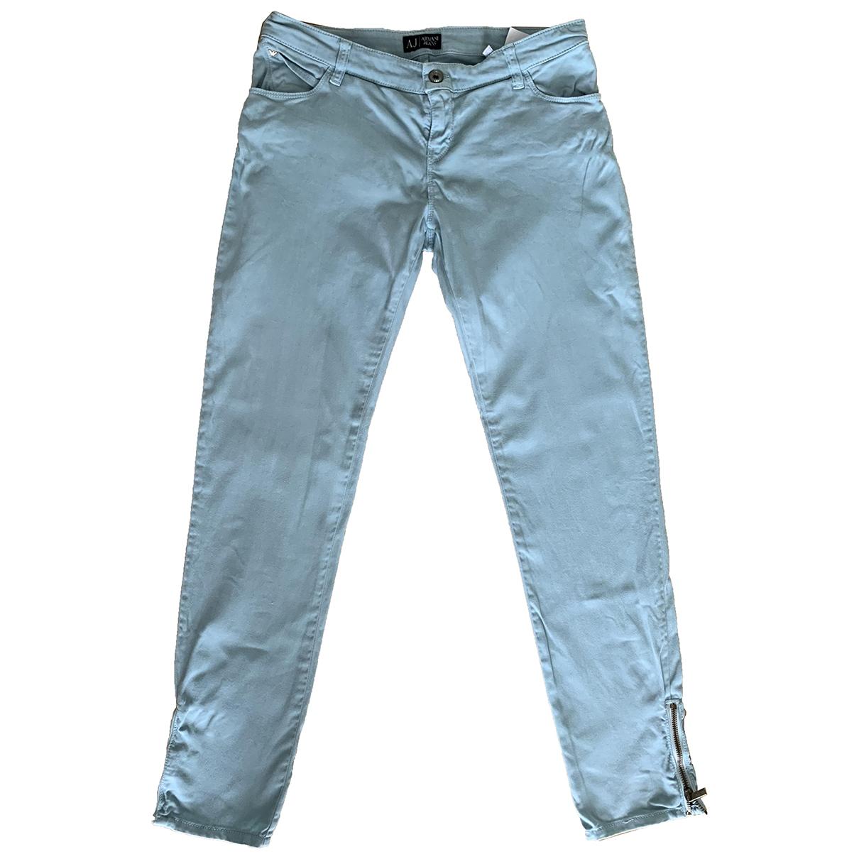 Pantalon en Algodon Armani Jeans