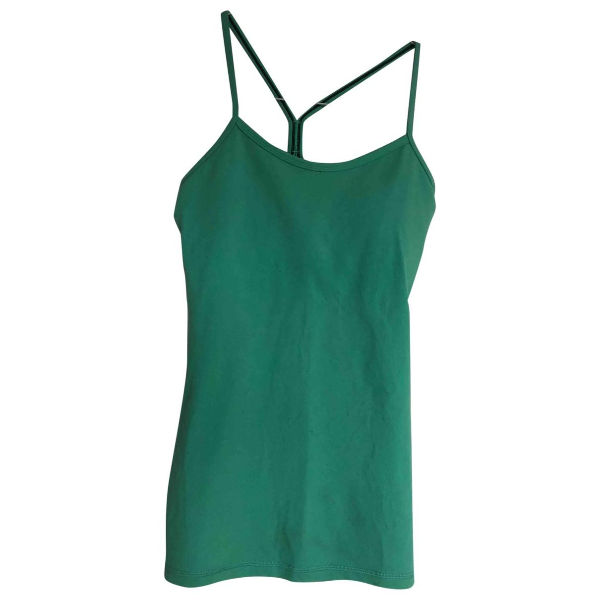 Lululemon - Top   pour femme en coton - turquoise