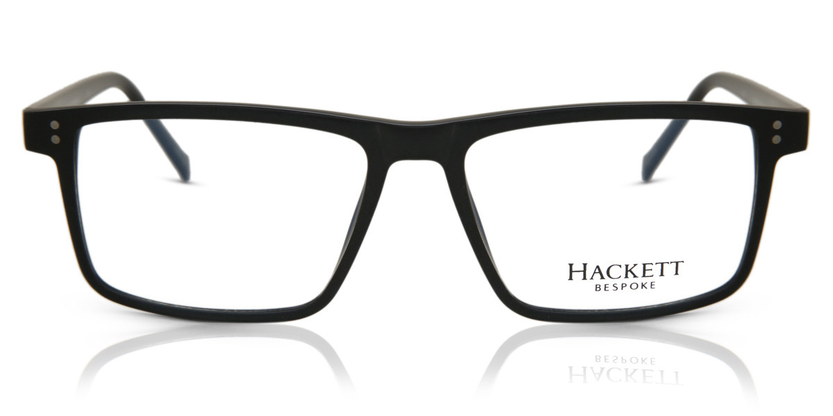Hackett HEB209 02 Men's Glasses Black Size 54 - Free Lenses - HSA/FSA Insurance - Blue Light Block Available