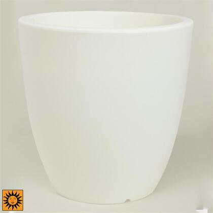 CF3222 White Aria Tall Round Pot