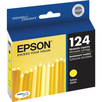 Epson T124420 Original Yellow Ink Cartridge
