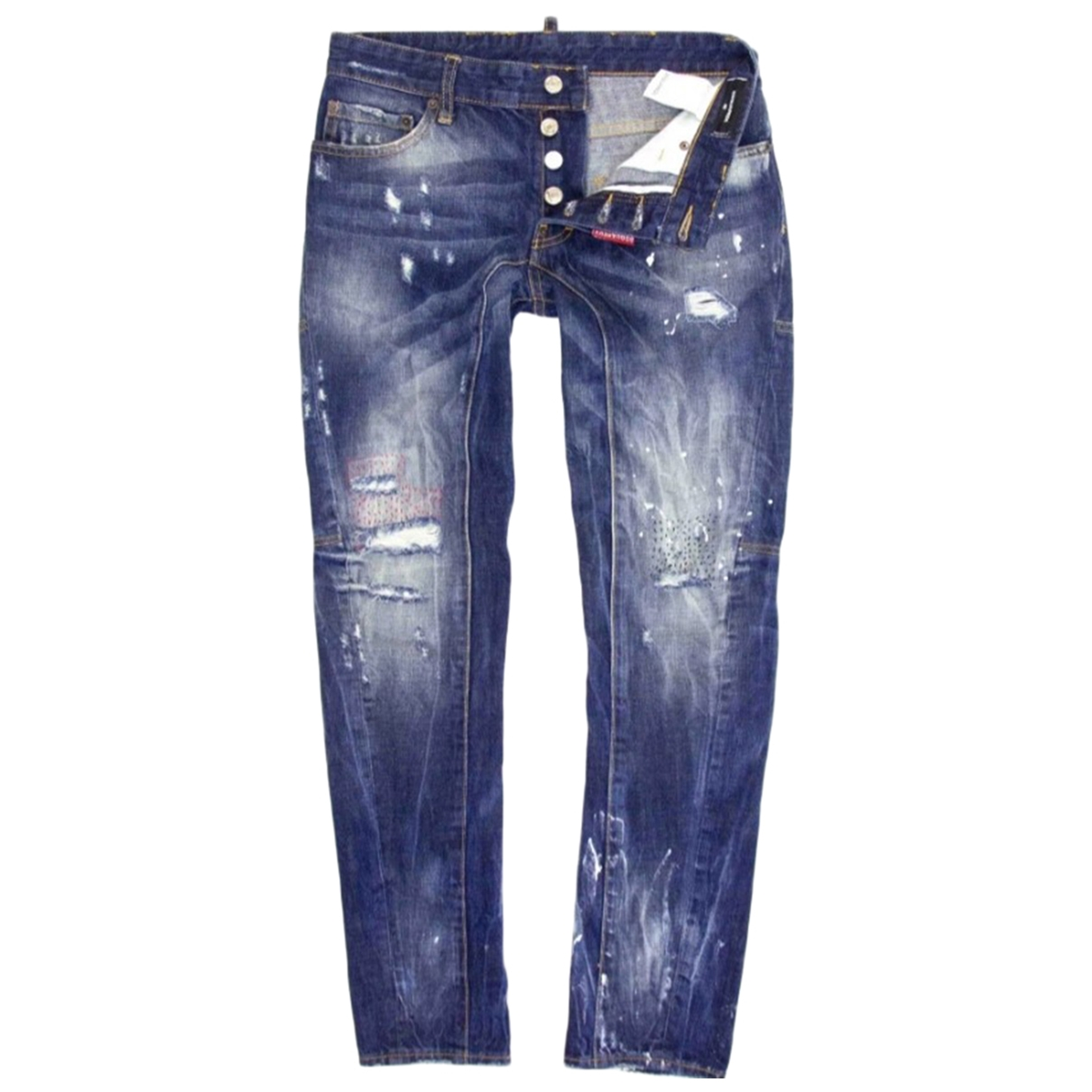 Dsquared2 \N Cotton Jeans for Men 38 FR