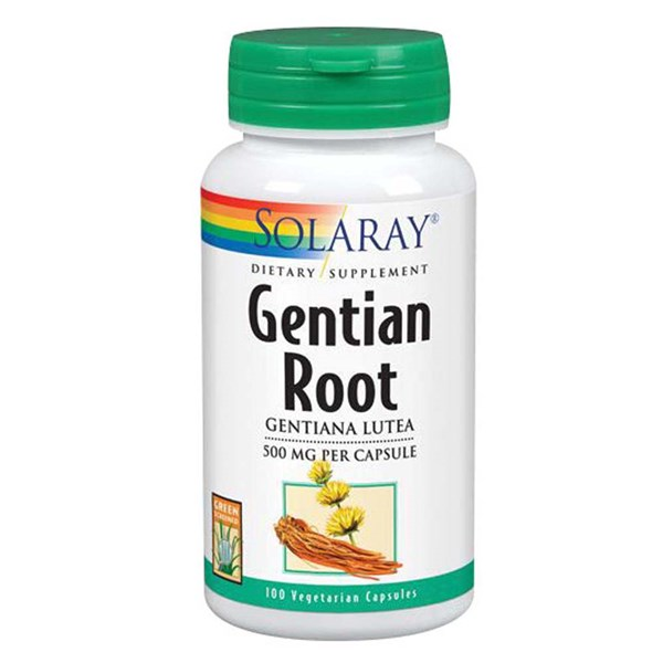 Gentian 100 Caps by Solaray