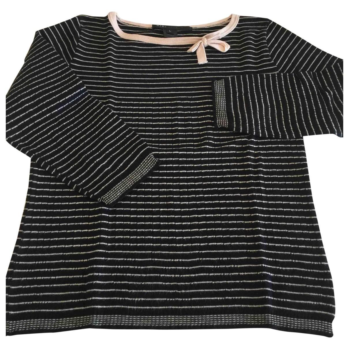 Marc Jacobs - Pull   pour femme en coton - noir