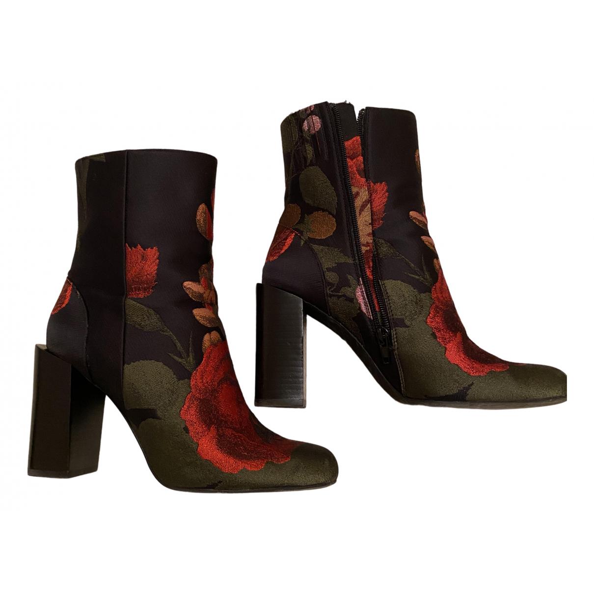 Jeffrey Campbell - Boots   pour femme en toile - noir