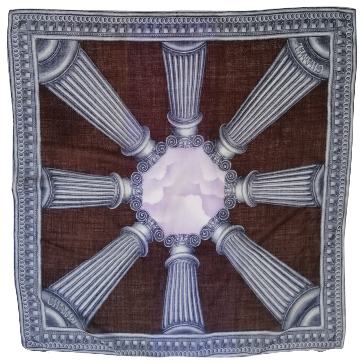 Chanel \N Multicolour Wool Silk handkerchief for Women \N