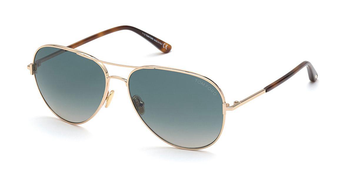 Tom Ford FT0823 CLARK 28P Mens Sunglasses Gold Size 59