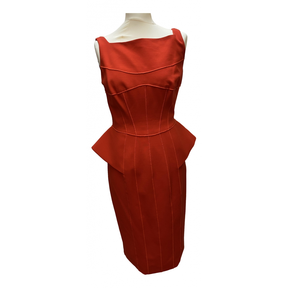 Amanda Wakeley \N Red dress for Women 12 UK