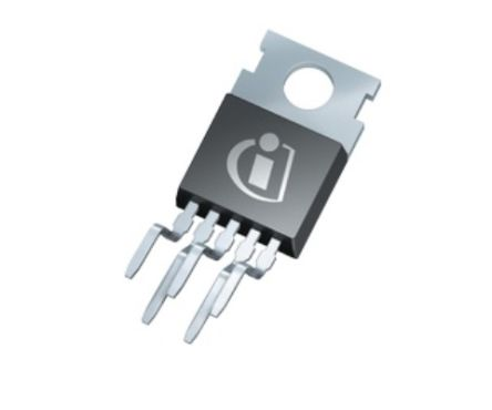 Infineon BTS442E2BKSA1, 1-Channel Smart High Side Power Switch, High Side, 21A, 4.5 → 42V, 167W 5 + Tab-Pin, (50)