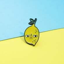 Kinder Brosche mit Obst Design