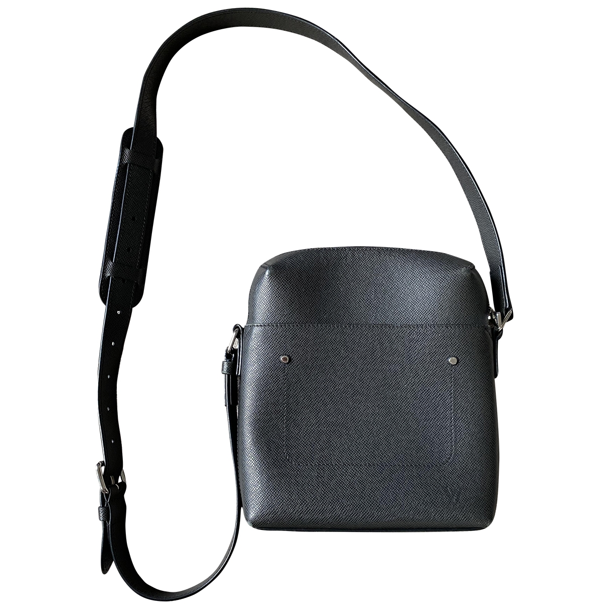 Louis Vuitton Grigori Anthracite Leather bag for Men \N