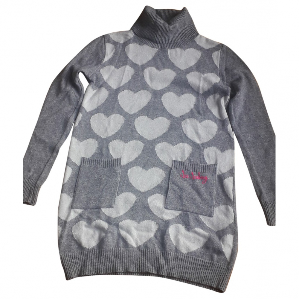 Iceberg \N Grey Wool dress for Kids 10 years - up to 142cm FR
